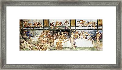 Romano Giulio The Country Banquet Framed Print