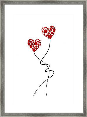 Romantic Art - You Are The One - Sharon Cummings Framed Print by Sharon Cummings