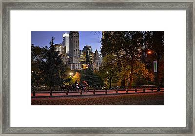 Romantic Carriage Ride Framed Print by Jim Archer