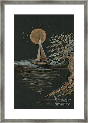 Romantic Evening  Framed Print
