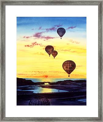 Romantic Flight Framed Print