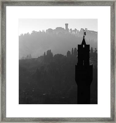 Romantic Haze - 2 Of 2 Framed Print by Alan Todd