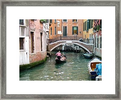 Romantic Journey Framed Print by Carl Jackson