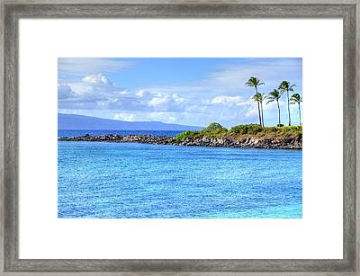Framed Print featuring the photograph Romantic Kapalua  by Kelly Wade