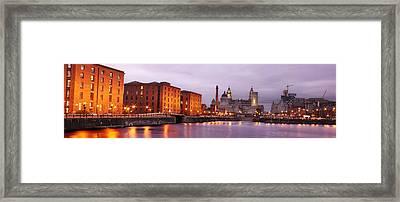 Romantic Liverpool Framed Print by Sydney Alvares