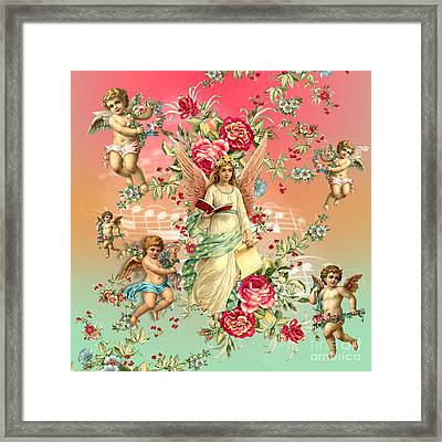 Romantic Framed Print by Mark Ashkenazi