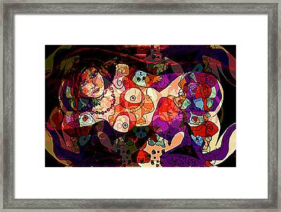 Romantic Framed Print by Natalie Holland