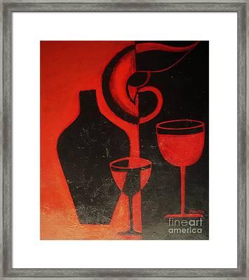 Romantic Night Framed Print
