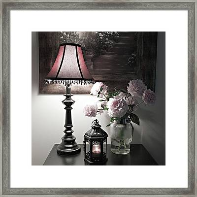 Romantic Nights Framed Print by Sherry Hallemeier