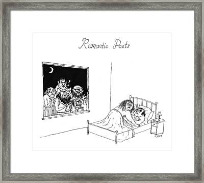 Romantic Poets Framed Print by Edward Steed