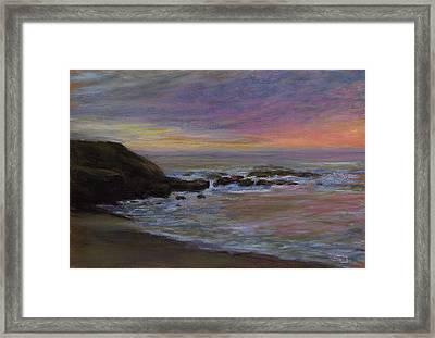 Romantic Shore Framed Print