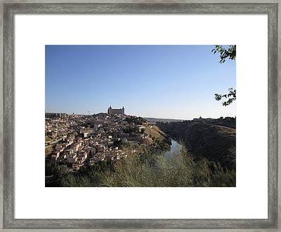 Romantic Toledo Framed Print