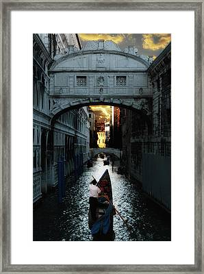 Romantic Venice Framed Print