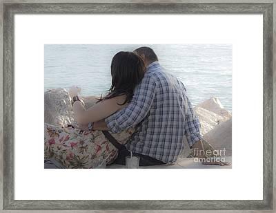 Romantic Whispers Framed Print