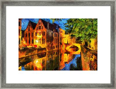 Romantique Framed Print by Greg Collins