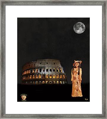Rome Fashion Framed Print