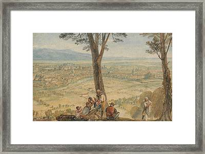 Rome From Monte Mario  Framed Print