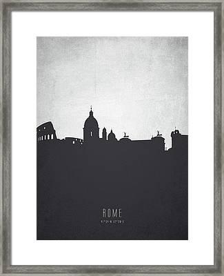 Rome Italy Cityscape 19 Framed Print