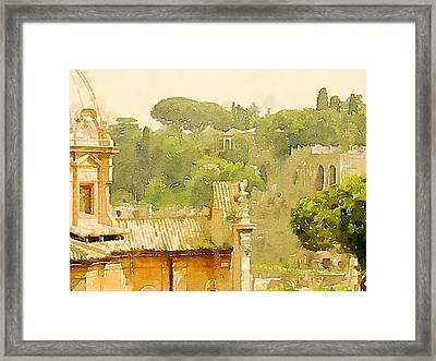 Rome Framed Print by John Springfield