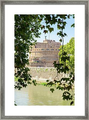 Rome - Mausoleum Of Hadrian 3 Framed Print