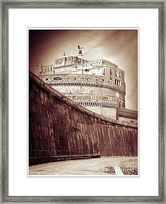 Rome Monument Architecture Framed Print