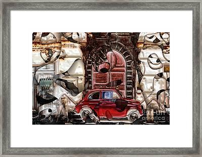 Rome Nostalgia Framed Print by John Rizzuto