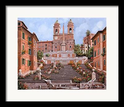 Roma Framed Prints