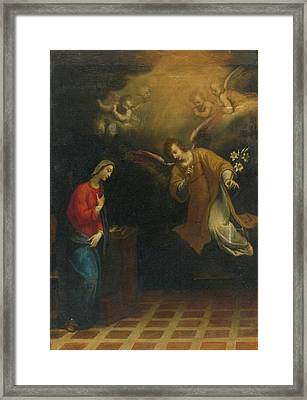 Rome The Annunciation Framed Print by MotionAge Designs