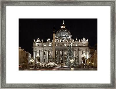 Rome Vatican Framed Print