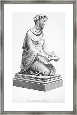 Rome: Vestal Virgin Framed Print by Granger