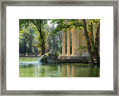 Rome - Whispers From The Past Framed Print by Andrea Mazzocchetti