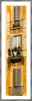 Rome With A View Framed Print