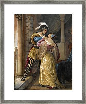Romeo And Juliet Framed Print by Francesco Hayes