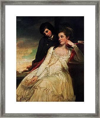 Romney George Jane Maxwell Duchess Of Gordon Framed Print