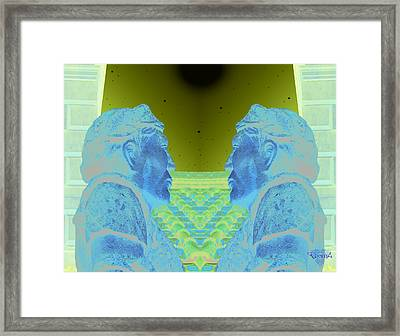 Romulus And Remus Framed Print by Greg Piszko