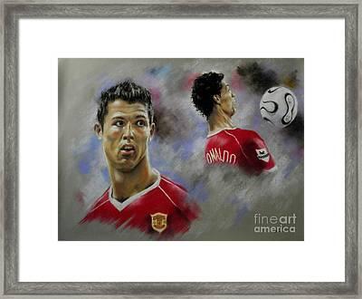 Ronaldo Framed Print