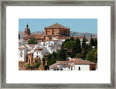 Ronda. Andalusia. Spain Framed Print by Jenny Rainbow