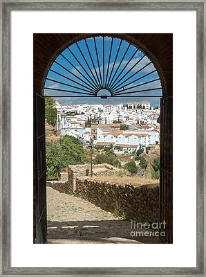 Ronda Archway Framed Print by Rod Jones