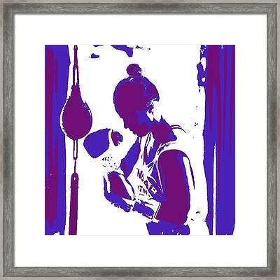 Ronda Rousey 4b Framed Print by Brian Reaves