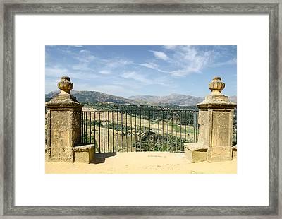 Ronda - Spain - Landscape Framed Print