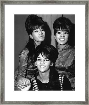 Ronettes Framed Print