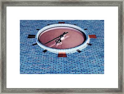 Ronkonkoma Time Negative   Framed Print by Rob Hans
