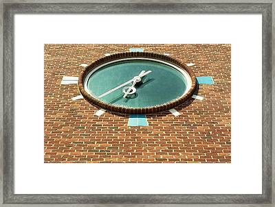 Ronkonkoma Time Framed Print by Rob Hans