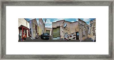 Ron's Automotive - 2 Framed Print
