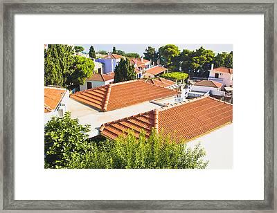 Roof Tops Framed Print