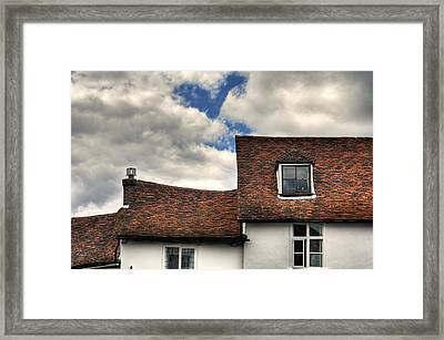 Roof Tops Framed Print by Tom  Wray