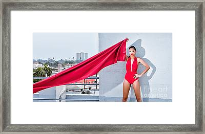 Rooftop Framed Print by Gregory Worsham