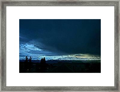 Rooftops Framed Print by Jeremy Rhoades
