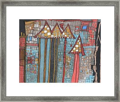 Dilapidated World Framed Print