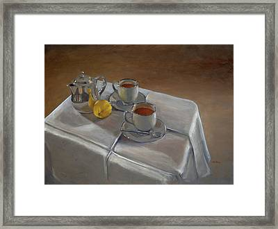Rooibos For Two Framed Print